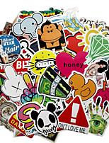 Недорогие -Автомобильные наклейки Мультяшная тематика Автомобильные стикеры Мультипликация Стикеры