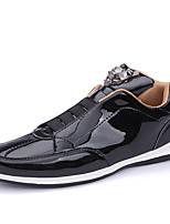 Недорогие -Муж. Комфортная обувь Полиуретан Весна На каждый день Кеды Нескользкий Золотой / Черный / Серебряный