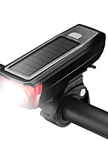 Недорогие -Светодиодная лампа Велосипедные фары LED подсветка Передняя фара для велосипеда Велосипедный рог Горные велосипеды Велоспорт Водонепроницаемый Регулируется Простота транспортировки
