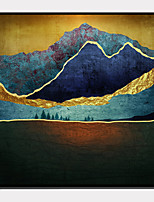 Недорогие -Холст в раме / Набор в раме - Абстракция / Пейзаж Пластик Иллюстрации