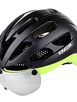 Недорогие -Kingbike Взрослые Мотоциклетный шлем / BMX Шлем 17 Вентиляционные клапаны Сетка от насекомых, Формованный с цельной оболочкой ESP+PC Виды спорта