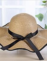 Недорогие -Жен. Шляпа от солнца - Бант Однотонный