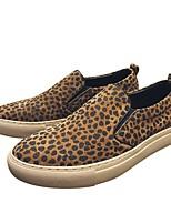 Недорогие -Муж. Комфортная обувь Свиная кожа Весна Мокасины и Свитер Коричневый / Миндальный