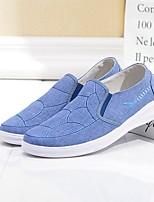 Недорогие -Муж. Комфортная обувь Полотно Лето Мокасины и Свитер Серый / Синий