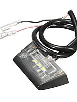 Недорогие -1pcs Проводное подключение Мотоцикл Лампы 1 W 3 Светодиодная лампа Подсветка для номерного знака Назначение Мотоциклы Все модели Все года