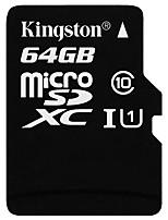 Недорогие -Kingston 64 Гб Карточка TF Micro SD карты карта памяти Class10