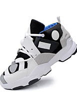 Недорогие -Муж. Комфортная обувь Синтетика Весна & осень Кеды Белый / Черный / Серый
