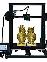 Недорогие -Tronxy® xy-3 алюминиевый профиль, 3d-принтер, размер печати 310 * 310 * 330 мм с печатью резюме / 3,5-дюймовый сенсорный экран / магнитная наклейка / экструзия Боудена / двойная конструкция