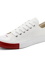 Недорогие -Муж. Комфортная обувь Полотно Весна Кеды Черный / Желтый / Красный