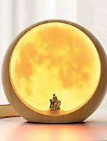 Недорогие -1шт LED Night Light Желтый USB Творчество <=36 V