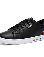 Недорогие -Муж. Комфортная обувь Полиуретан Весна Кеды Белый / Черный / Зеленый