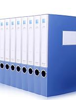 Недорогие -10 pcs deli 27035 Коробка файла A4 PP Custom Label Влагоотталкивающий