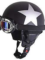 Недорогие -Каска Взрослые Универсальные Мотоциклистам УФ-защита / Анти-Ветер / Anti-Dust