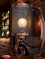 Недорогие -Cool Ретро Настенные светильники кафе Металл настенный светильник 220-240Вольт