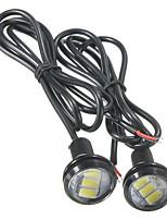 Недорогие -Пара 3 Вт светодиодный орлиный глаз автомобиля вверх лампы заднего хода дневного света Drl 3 светодиод