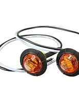 Недорогие -Проводное подключение Автомобиль Лампы 1 Светодиодная лампа Боковые габаритные огни Назначение Международный Все года