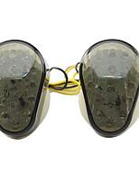 Недорогие -2pcs Проводное подключение Мотоцикл Лампы 0.5 W Светодиодная лампа Лампа поворотного сигнала Назначение Kawasaki Все года