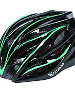 Недорогие -WEST BIKING® Взрослые Мотоциклетный шлем 28 Вентиляционные клапаны С возможностью регулировки, Сетка от насекомых, Формованный с цельной оболочкой прибыль на акцию, ПК Виды спорта