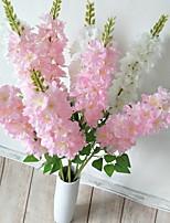 Недорогие -Искусственные Цветы 1 Филиал Классический Современный современный Дельфиниумы Букеты на стол