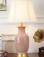 Недорогие -Традиционный / классический Новый дизайн Настольная лампа Назначение Спальня / В помещении Фарфор 220 Вольт