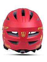 Недорогие -Wheel up Дети Мотоциклетный шлем 13 Вентиляционные клапаны Формованный с цельной оболочкой ESP+PC, ПП (полипропилен) Виды спорта На открытом воздухе / Велосипедный спорт / Велоспорт -