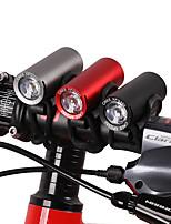 Недорогие -Светодиодная лампа Велосипедные фары Передняя фара для велосипеда Горные велосипеды Велоспорт Водонепроницаемый Портативные Прочный 120 lm Белый