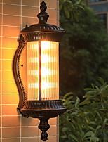 Недорогие -Новый дизайн Современный современный Настенные светильники На открытом воздухе / Сад Металл настенный светильник 220-240Вольт 8 W