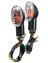 Недорогие -2шт указатели поворота мотоцикла свет янтарный поворотник