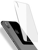 Недорогие -Защитная плёнка для экрана для Apple iPhone XS / iPhone XR / iPhone XS Max Закаленное стекло 1 ед. Защитная пленка для задней панели HD / Уровень защиты 9H