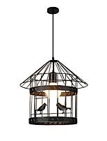 Недорогие -Фонариком Подвесные лампы Рассеянное освещение Окрашенные отделки Металл Новый дизайн 110-120Вольт / 220-240Вольт