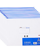 Недорогие -10 pcs M&G ADMN4167 Папки файлов A4 Прозрачный Custom Label