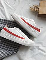 Недорогие -Муж. Комфортная обувь Полиуретан Весна Кеды Черный / Красный / Белый / синий