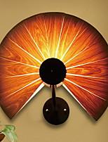 Недорогие -Новый дизайн Ретро Настенные светильники В помещении Дерево / бамбук настенный светильник 220-240Вольт 40 W