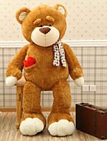Недорогие -Медведи Плюшевый медведь Мягкие и плюшевые игрушки Животные Очаровательный Хлопок / полиэфир Все Игрушки Подарок 1 pcs