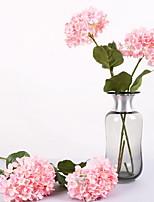 Недорогие -Искусственные Цветы 1 Филиал Классический Современный современный Гортензии Букеты на стол