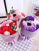 Недорогие -Искусственные Цветы 1 Филиал Классический Свадебные цветы Modern Розы Подсолнухи Букеты на стол