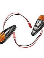 Недорогие -2pcs Проводное подключение Мотоцикл Лампы 1 Светодиодная лампа Лампа поворотного сигнала Назначение Suzuki / Honda / BMW Все модели Все года