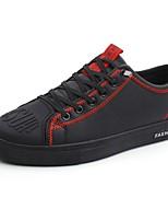 Недорогие -Муж. Комфортная обувь Полиуретан Весна & осень Кеды Черный / Красный / Черный / зеленый
