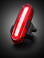 Недорогие -Светодиодная лампа Велосипедные фары Задняя подсветка на велосипед Горные велосипеды Велоспорт Водонепроницаемый Портативные Легкость 120 lm Перезаряжаемый / АБС-пластик