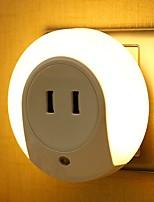Недорогие -1шт LED Night Light Желтый DC Powered <=36 V