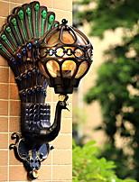 Недорогие -Творчество / Новый дизайн Ретро Настенные светильники На открытом воздухе / Сад Металл настенный светильник 220-240Вольт 4 W