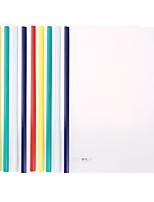 Недорогие -10 pcs M&G ADM95212 Папки файлов A4 PVC Прозрачный Влагоотталкивающий