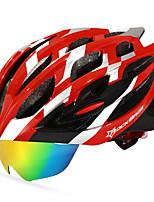 Недорогие -ROCKBROS Взрослые Мотоциклетный шлем 18 Вентиляционные клапаны С возможностью регулировки прибыль на акцию ПК Виды спорта На открытом воздухе Велосипедный спорт / Велоспорт -