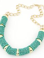Недорогие -Жен. европейский / Мода ожерелья Сплав