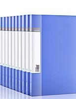 Недорогие -12 pcs deli 5364 Папки файлов A4 PP Custom Label
