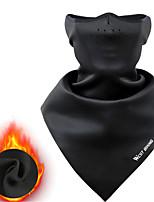 Недорогие -WEST BIKING® Лицевая Маска Черный Темно-серый Серый Зима С защитой от ветра Дышащий Сохраняет тепло Горный велосипед На открытом воздухе Велоспорт Универсальные Сплошной цвет Молочное волокно