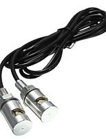Недорогие -2pcs Проводное подключение Мотоцикл Лампы SMD LED 1 Светодиодная лампа Подсветка для номерного знака Назначение Toyota / Mercedes-Benz / BMW Все модели Все года