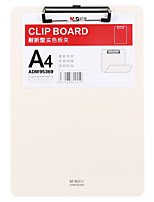 Недорогие -1 pcs M&G ADM95369 Папки файлов A4 пластик Custom Label