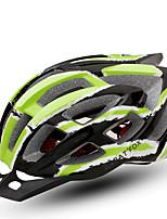 Недорогие -BAT FOX Взрослые Мотоциклетный шлем / BMX Шлем 24 Вентиляционные клапаны Формованный с цельной оболочкой ESP+PC Виды спорта На открытом воздухе / Велосипедный спорт / Велоспорт / Мотоцикл - Зеленый