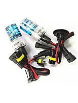 Недорогие -2pcs 9005 Автомобиль Лампы Высокомощный LED 3600 lm HID ксеноны Налобный фонарь Назначение Все года